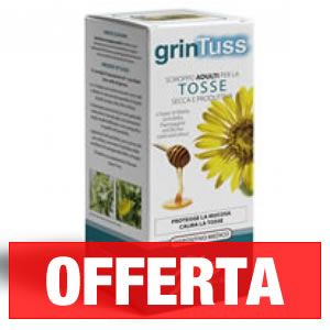 GRINTUSS SCIROPPO ADULTI - 210 G