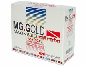 MG GOLD MAGNESIO CITRATO 20BUSTINE