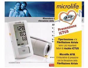 MICROLIFE MISURATORE DI PRESSIONE CON RILEVAZIONE DELLA FIBRILLAZIONE ATRIALE