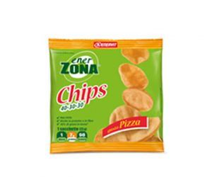 ENERZONA CHIPS snack di soia GUSTO PIZZA - 23gr