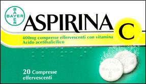 ASPIRINA C 400mg 20 COMPRESSE EFFERVESCENTI - Parafarmacia online ...